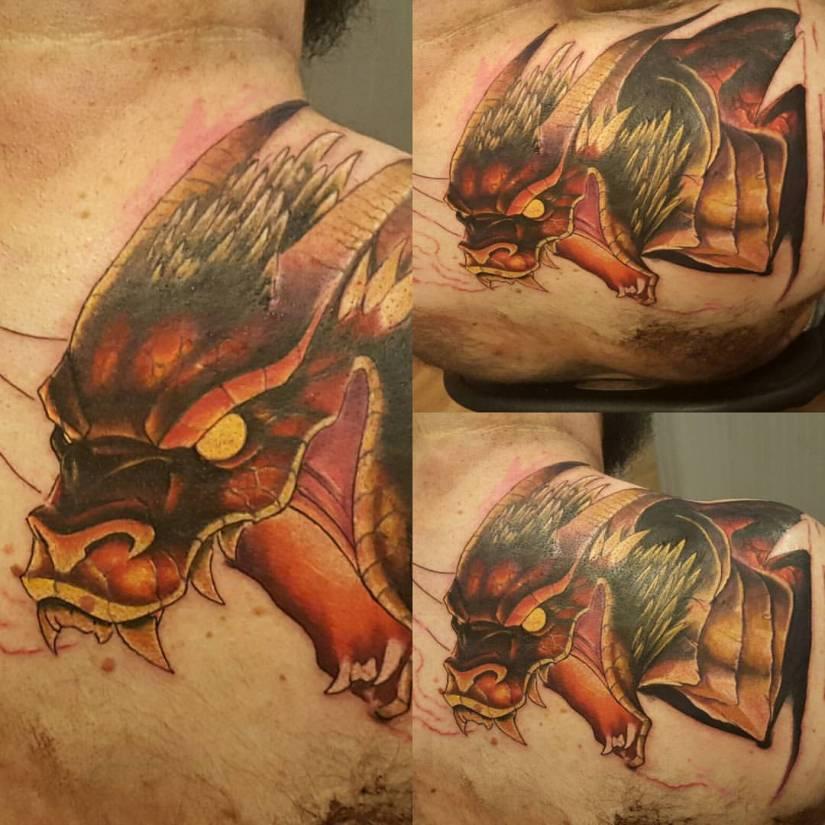 First Tattoo Session